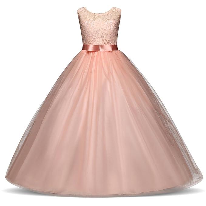 d7778cb66ef Amazon.com  Dorathywatm High-end Girls Wedding Party Flower Girl ...