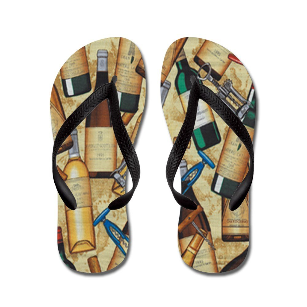 CafePress Wine - Flip Flops, Funny Thong Sandals, Beach Sandals