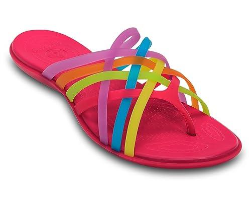 a67e4285f20a crocs Women s Huarache Flip-Flop