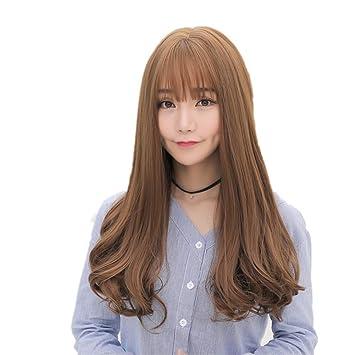 TT peluca manera del ms larga peluca pelo rizado natural de fácil cuidado