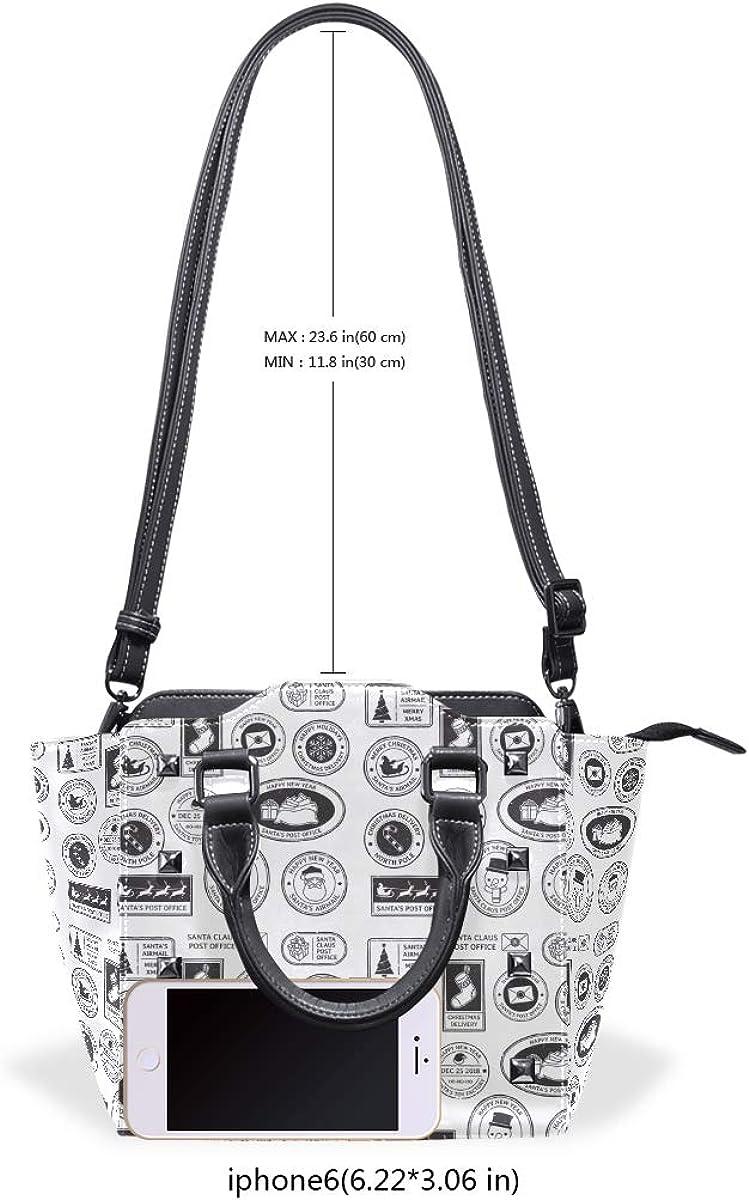 Women Handle Skull White And Black Satchel Handbags Tote Purse Shoulder Bag Big Capacity Handbag