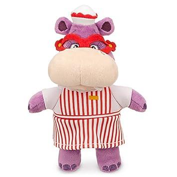 Disney Jr Doc Mcstuffins Hallie Hippo Bean Bag Plush Doll Amazonde