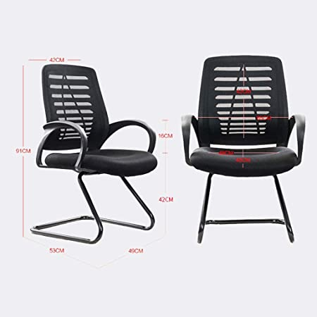 Amazon.com: Household Office Chairs, Ergonomics Bow Computer ...