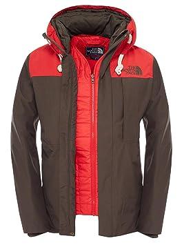 The North Face M Himalayan Jacket - Chaqueta para Hombre, Color Verde/Rojo, Talla XL: Amazon.es: Zapatos y complementos