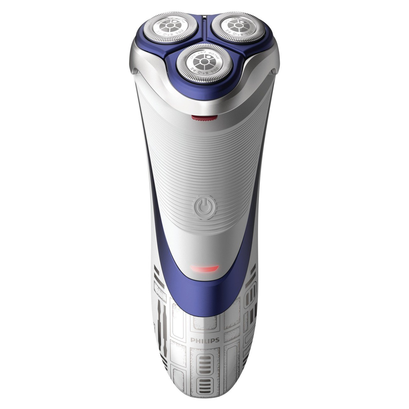 Philips Norelco Special Edition Star Wars R2-D2 Dry Electric Shaver, SW3700/87, with Pop-up Trimmer