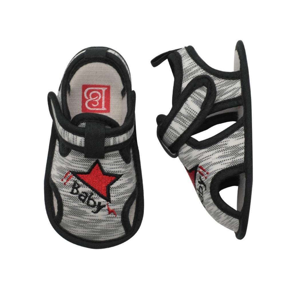 Lanhui Baby Sandals Size Boy Fashion Roman Anti-Slip Infant Crib Shoes