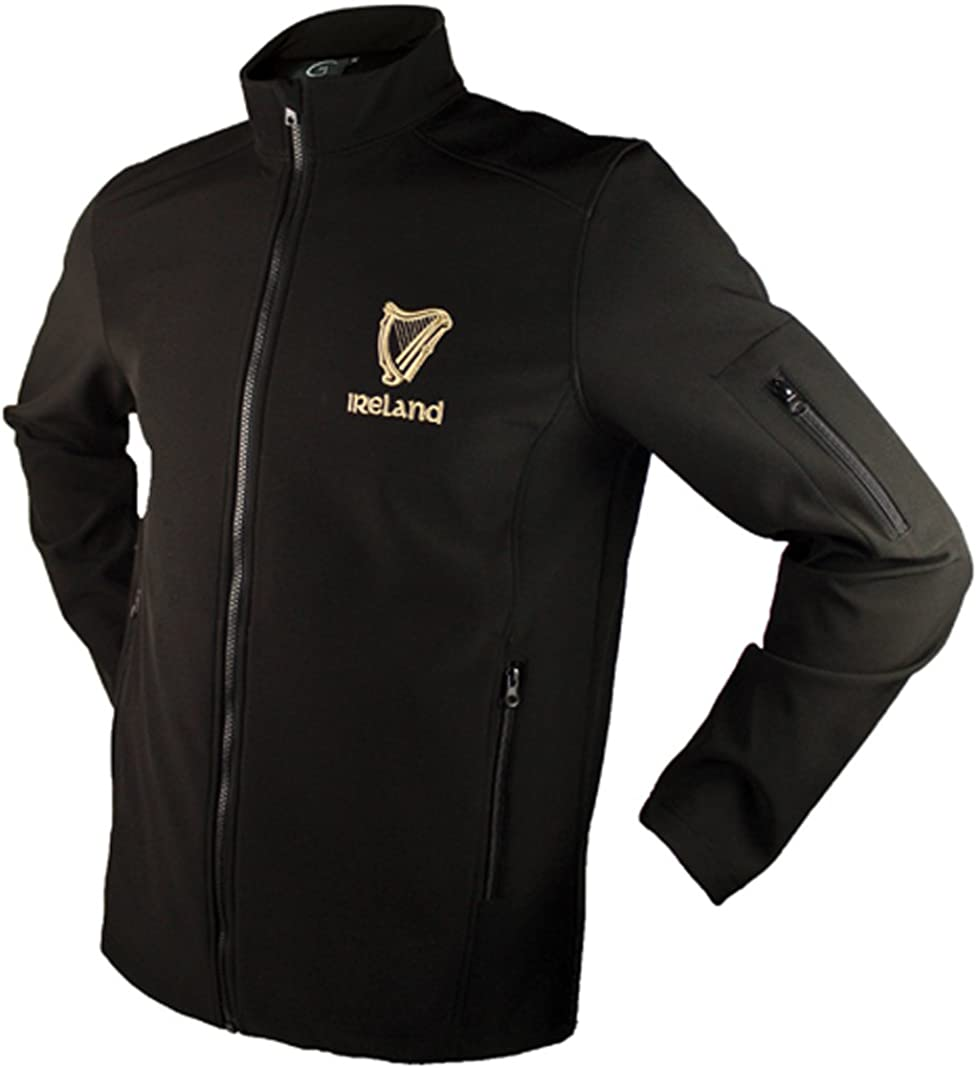 Dolmen Irish Harp Shell Jacket