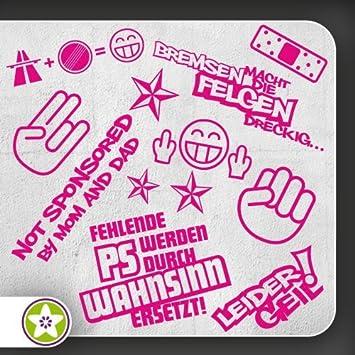 Sticker Bomb Set 01 Bogengr/ö/ße: A3 Bremsen/…Felgen/… Verschiedene Farben Auswahl Sammlung Aufkleber Scheibe Tuning Decal Autobahnfreak Shockerhand Leider Geil.. Fehlende PS/…