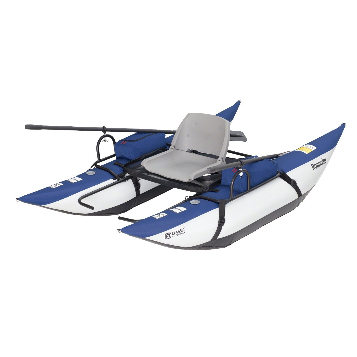 Classic Accessories Roanoke Inflatable Pontoon Boat - Best Flying Fishing Boats