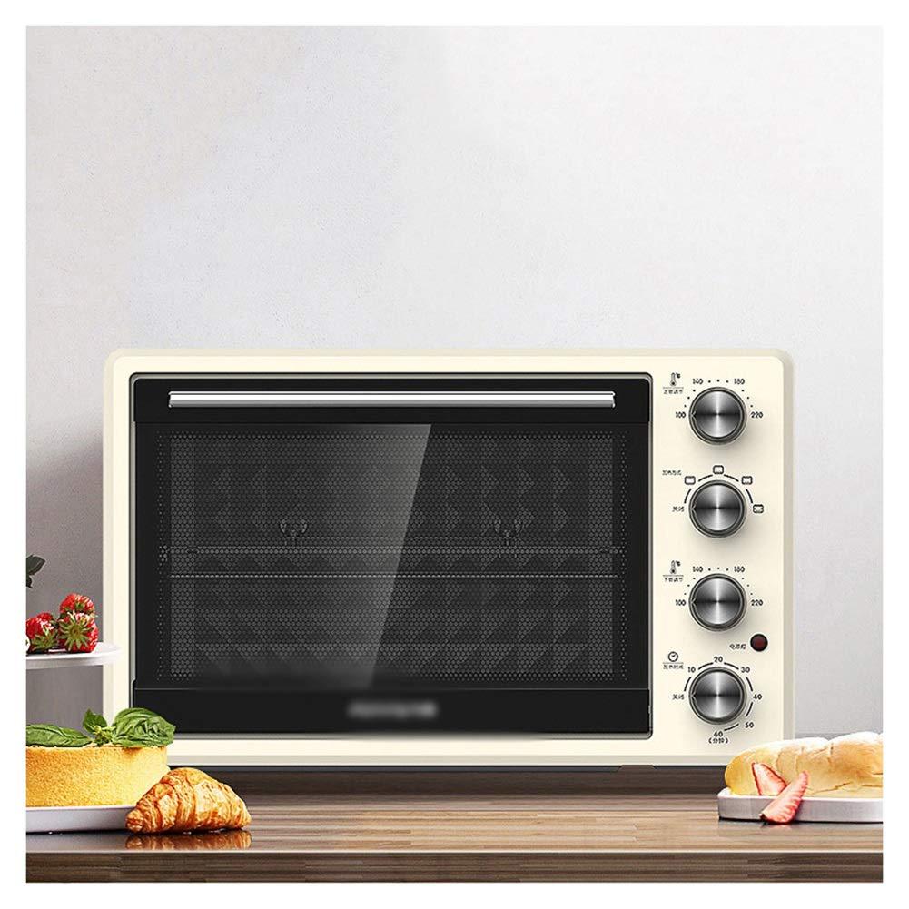 B07Q5NTPLM オーブン -46   THOR-YAN 二重ホットプレートが付いているグリル32L電気オーブンが付いているオーブン小型オーブン、5つのプリセット機能の可能な上の炊事道具黒