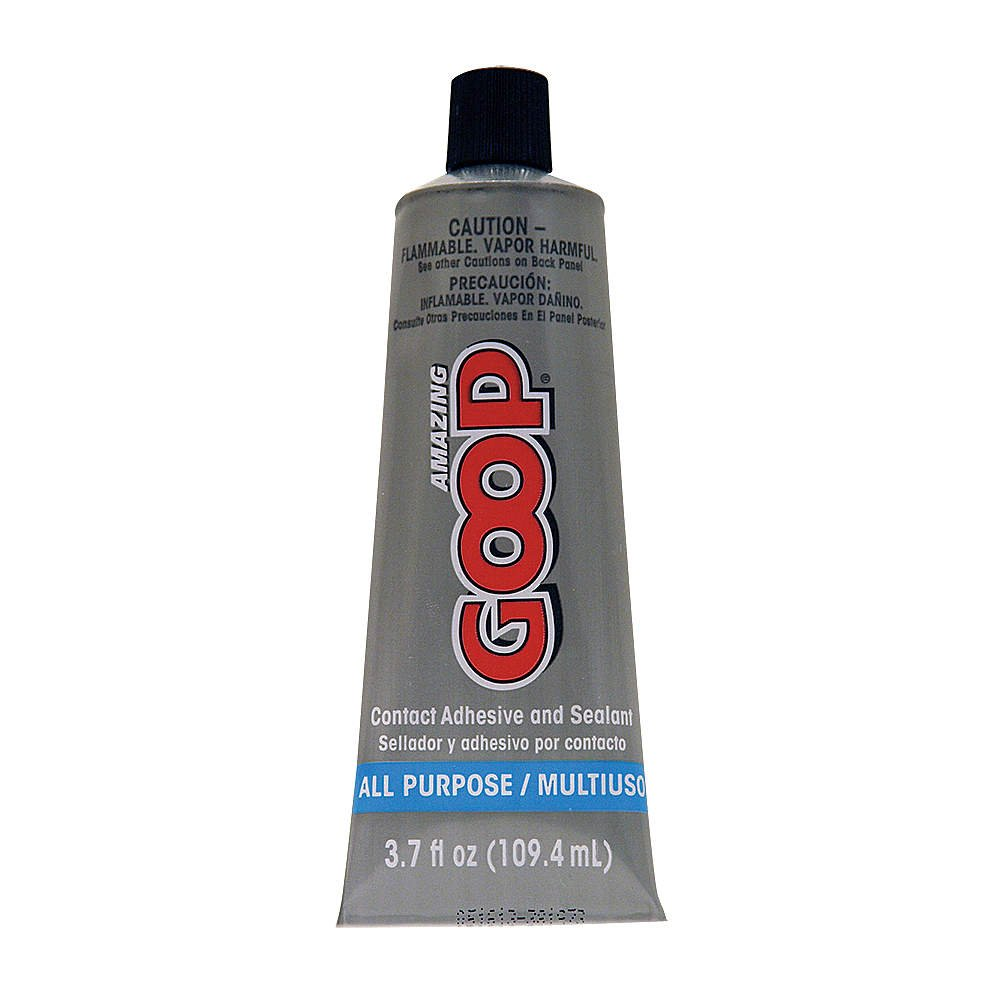 All Purpose Adhesive, Squeeze Tube, Clear
