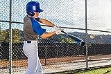 EASTON Z5 2.0 Batting Helmet   Senior   Matte White   Baseball Softball   2019   Dual-Density Impact Absorption Foam   High Impact Resistant ABS Shell   Moisture Wicking BioDRI Liner