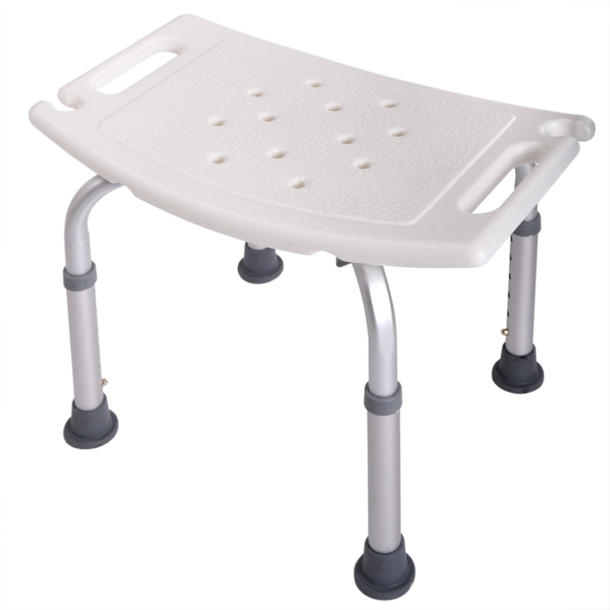 Tobbi Medical Tool-Free Assembly Adjustable Shower Stool Tub Chair W/Anti-Slip Rubber Tips by Tobbi (Image #4)