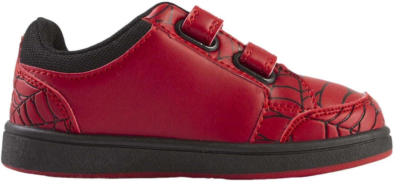 Fermeture Velcro Facile Conception Classique et L/éger Cadeau pour Gar/çon Taille EU 26 /à 33 Chaussures Baskets pour Gar/çon Marvel Spiderman Baskets