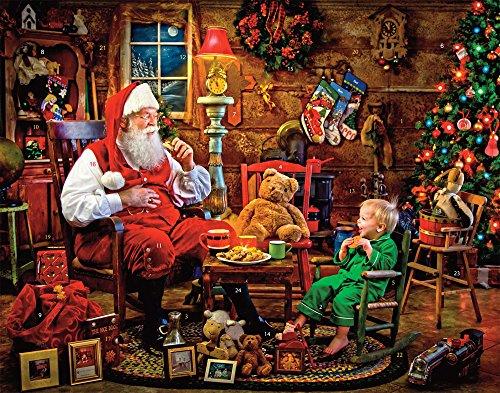 [해외]산타 어드밴트 캘린더가 있는 쿠키 (카운트다운 to Christmas) / Cookies with Santa Advent Calendar (Countdown to Christmas)