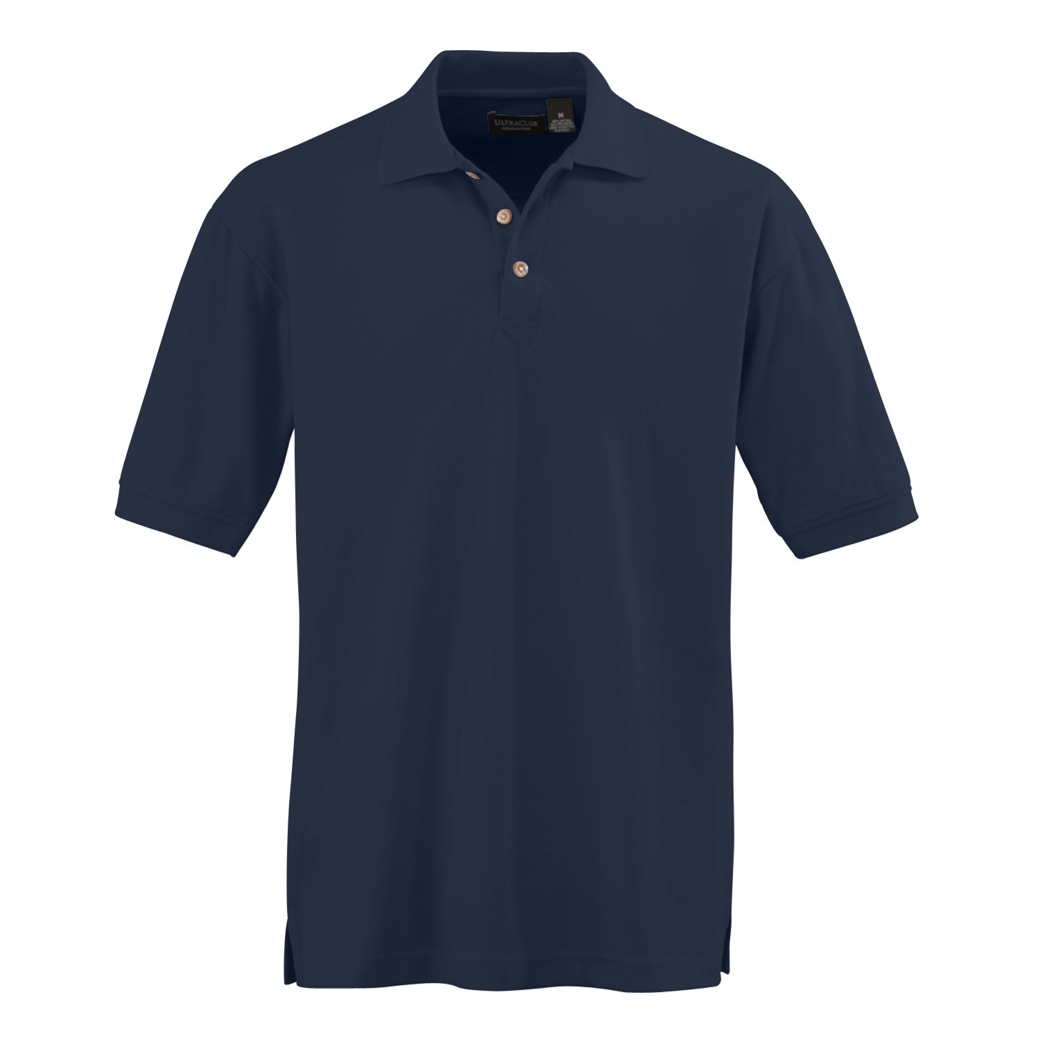 3 Extra Large Ultraclub Mens Whisper Pique Polo Shirts Apple Navy 1 Each