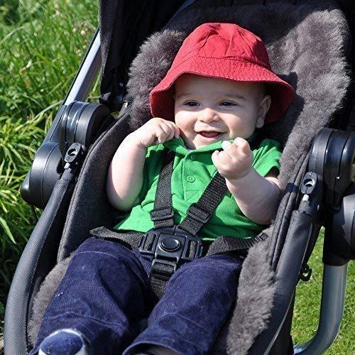 Baa Baby British Lambskin Liner - Grey All Style