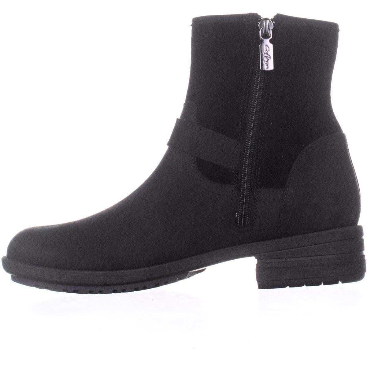 Aqua Womens Taylor Leather Round Toe Ankle Fashion Boots