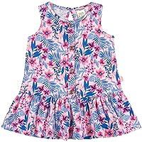 Vestido Rotativo Rosa Bebê Bebê Menina Meia Malha 36107-721