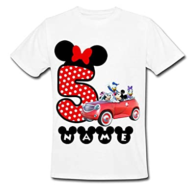 7f8e3917 Sprinklecart Mickey Mouse | Minnie Mouse | Donald Duck | Daisy Duck  Personalized Name Printed Lovely. Roll over image to ...