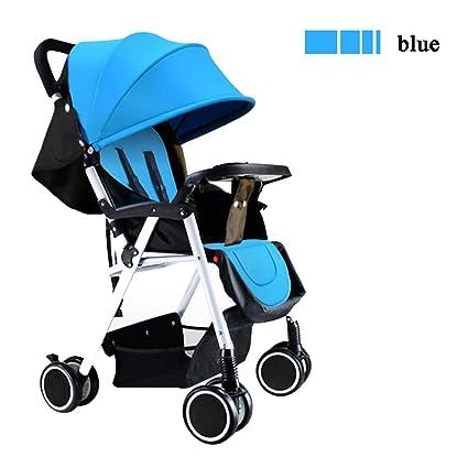 Ligero carrito de bebe Puede sentarse y acostarse Plegable ...