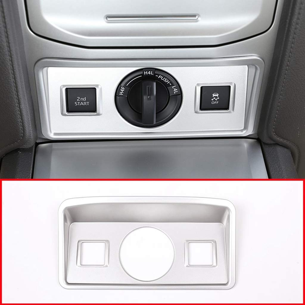 AUTO Pro for 2010-2018 Toyota Prado FJ150 150 Accessories ABS Plastic Four-Wheel Drive Adjustment Switch Button Panel Cover Accessories