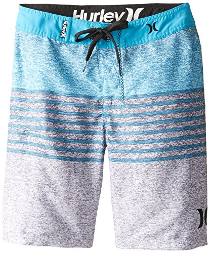 Hurley Big Boys' Blaze Boardshort-Blue Lagoon, Blue Lagoon, 20