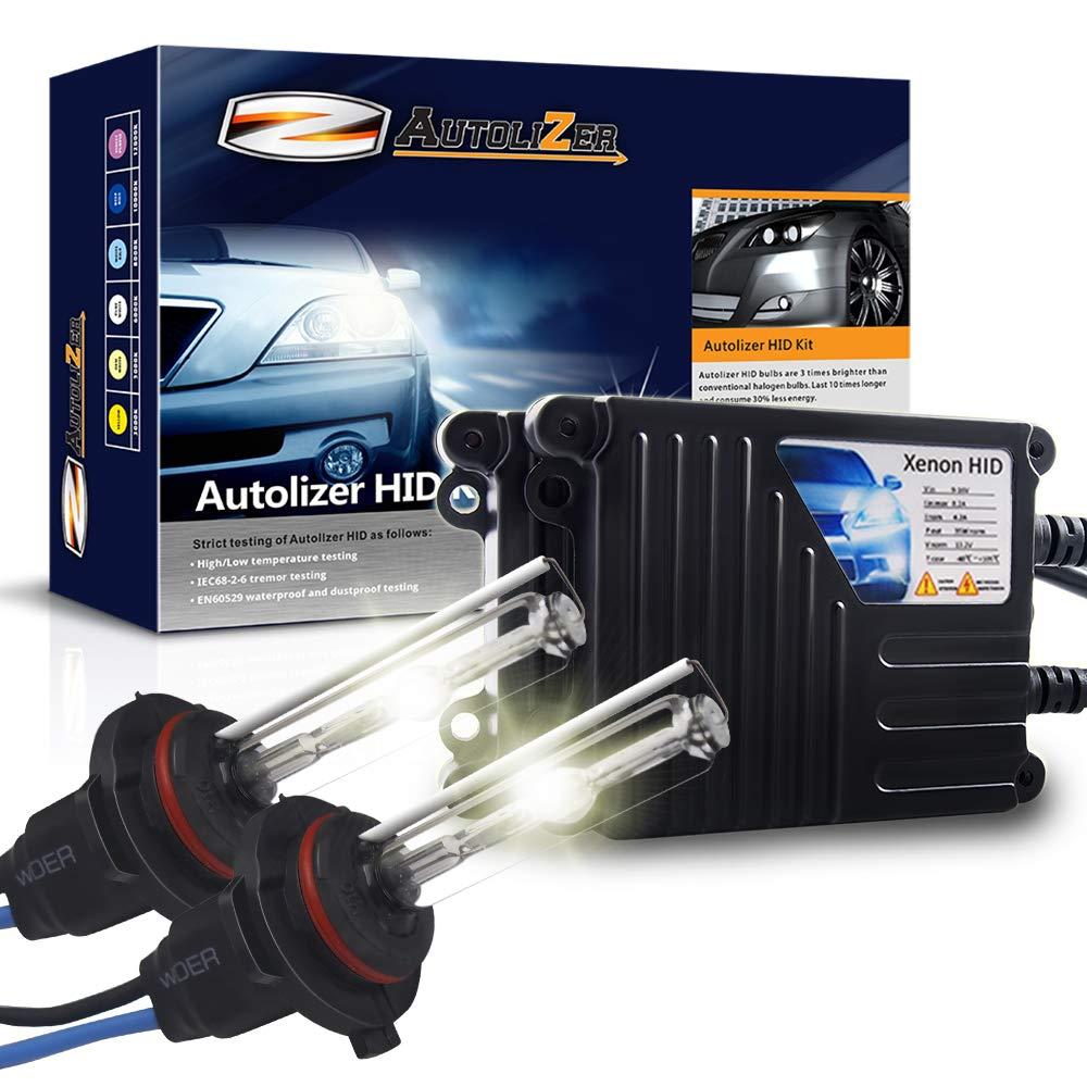 Autolizer 35W Xenon HID Lights 9005 9055 H12 10000K Dark Blue