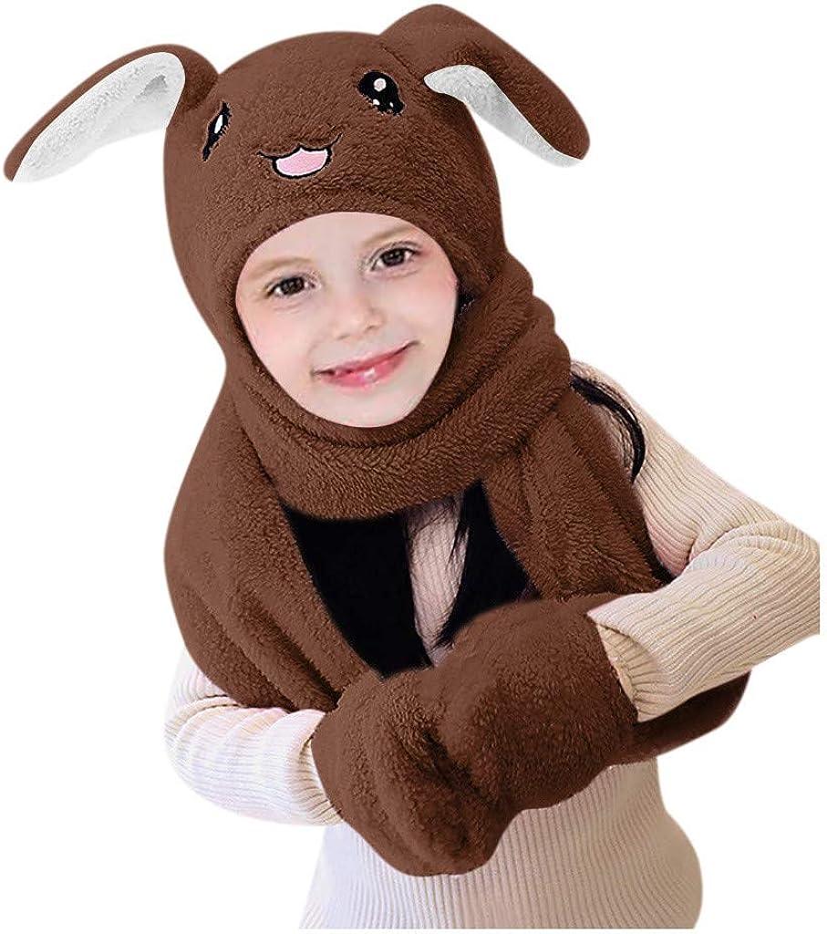 Cute 3 In 1 Hat Glove Scarf...