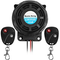 Rupse Inalámbrico Alarma Moto, Antirrobo Moto Alarma con Sistema de Control Remoto Dual a Prueba de Agua,Alarma…