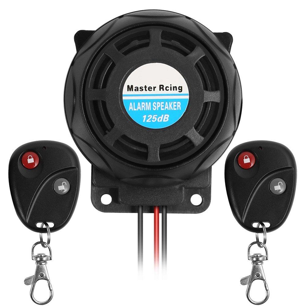 Moto té lé commande d'alarme antivol Systè me de sé curité , Super Fort Corne d'alarme de vibration Super Fort Corne d' alarme de vibration Rupse