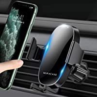 【2020 Upgraded】 Miracase Car Phone Mount, Air Vent Cell Phone Holder for Car, Universal Car Phone Holder Cradle…
