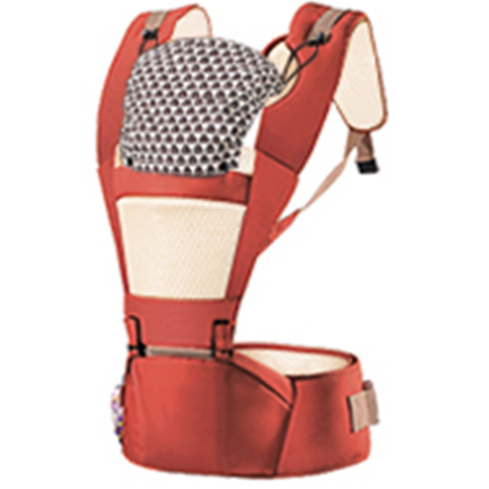 SJJL Baby Carrier Vier Jahreszeiten Universal Multifunktions Baby Carrier/Komfortable atmungsaktive abnehmbare Baby Harness (Farbe : C)