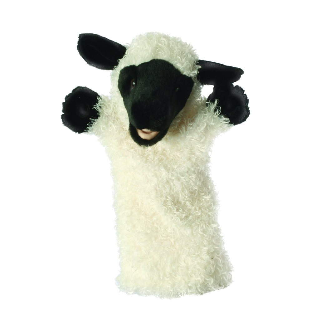 The Puppet Company Long-Sleeves White Sheep Hand Puppet PC006030