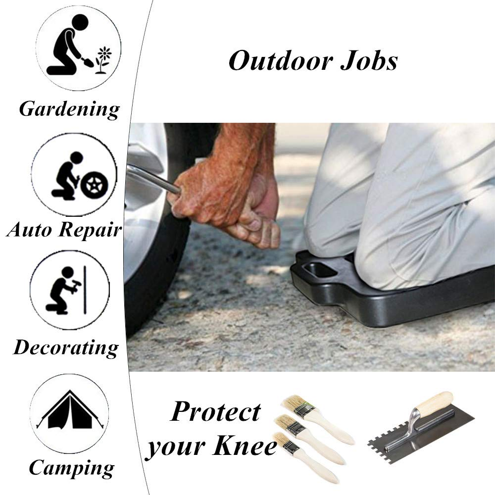 K KARL Garden Kneeler Seat Thick Protector Kneeling Pad for Home Garden Household Jobs