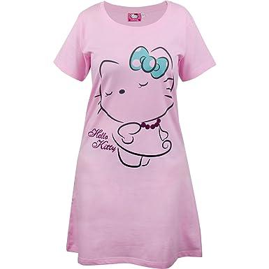 Hello Kitty Damen-Sleepshirt, Gr. 44/46: Amazon.de: Bekleidung