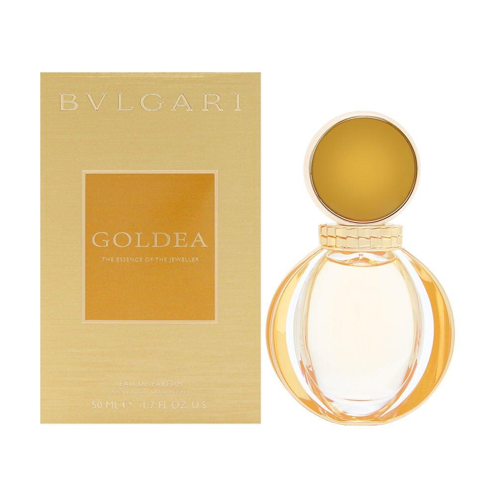 BVLGARI Goldea Mujeres 50 ml - Eau de parfum (Mujeres, 50 ml, Bergamota, Azahar, Frambuesa, Jazmín, Ylang-ylang, Papyrus, Pachuli, Aerosol)