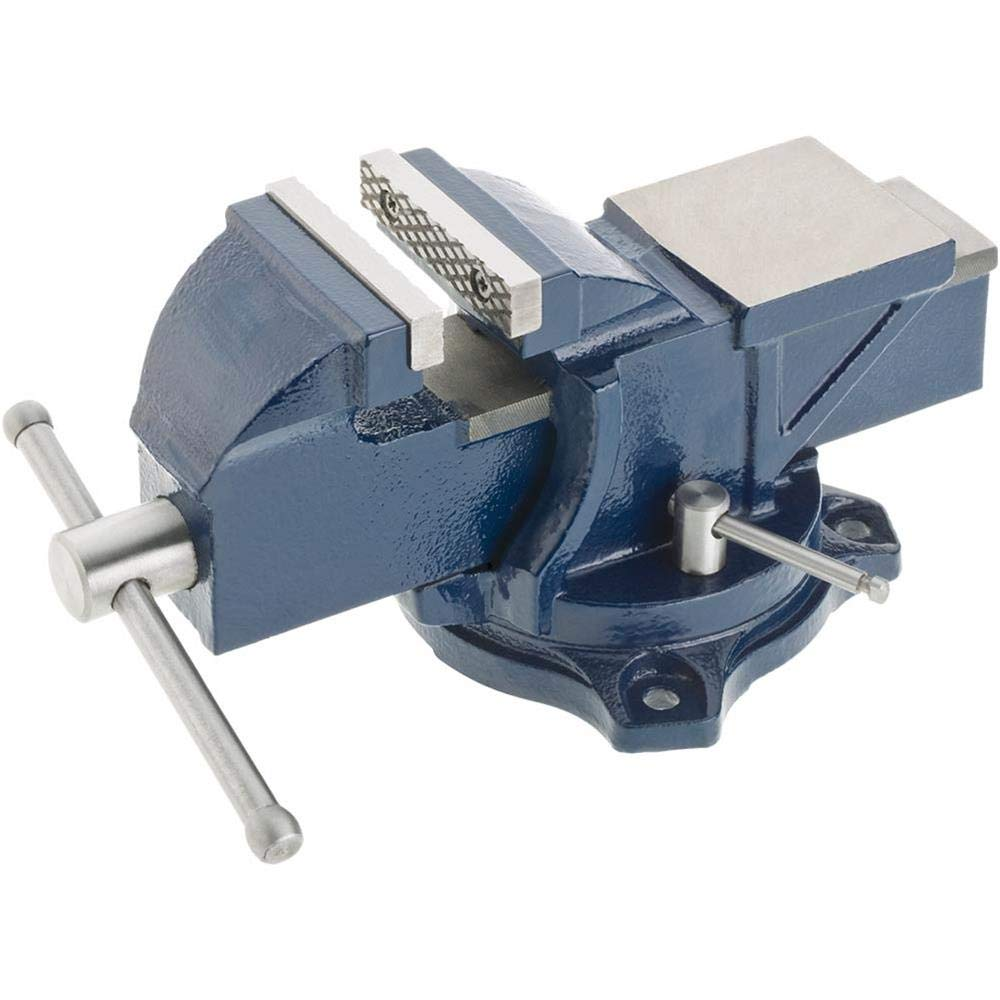Grizzly G7057 Bench Vise w/Anvil - 334; by Grizzly (Image #1)