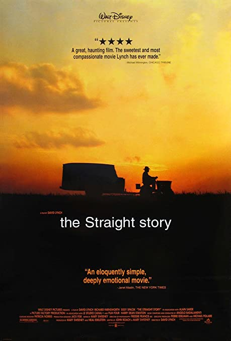 Amazon.com : THE STRAIGHT STORY MOVIE POSTER 2 Sided ORIGINAL ROLLED 27x40  DAVID LYNCH : Everything Else