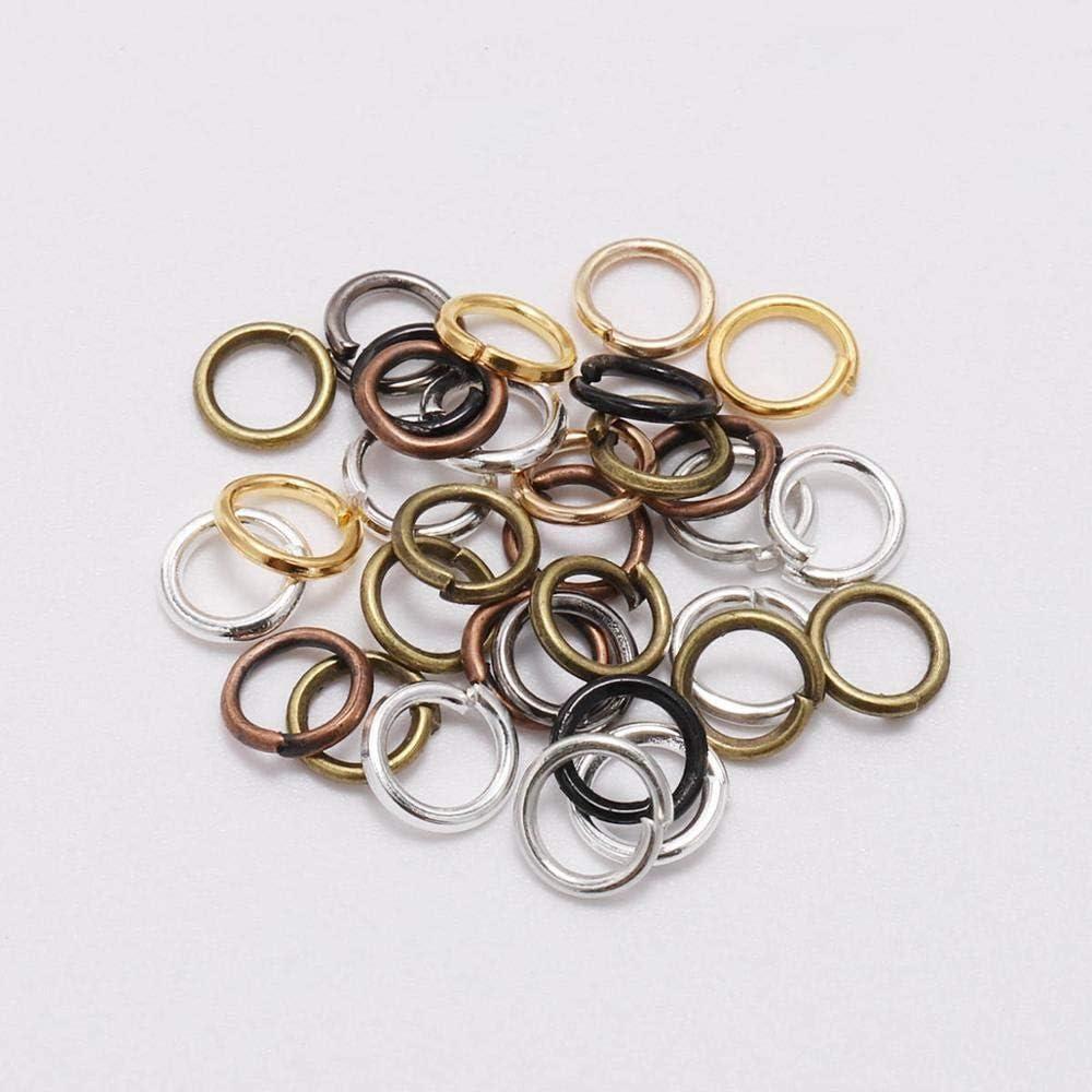 Lots Split Metal Jump Rings Open Connector Jewelry Findings 4//5//6//8//10//12//14mm