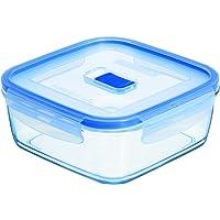 Purebox Active Quadrado Luminarc Transparente 380 ml Pacote de 2 Vidro Temperado