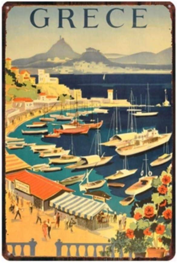 Segno Di Latta Metallo Decorazione Poster Plaque Vintage Cartel De ...