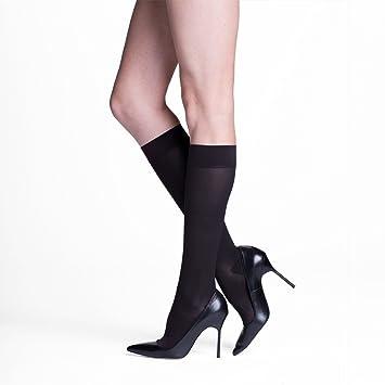 5b5850642b6 SIGVARIS Insignia Venturist Black Nylon Graduated Compression Socks Black
