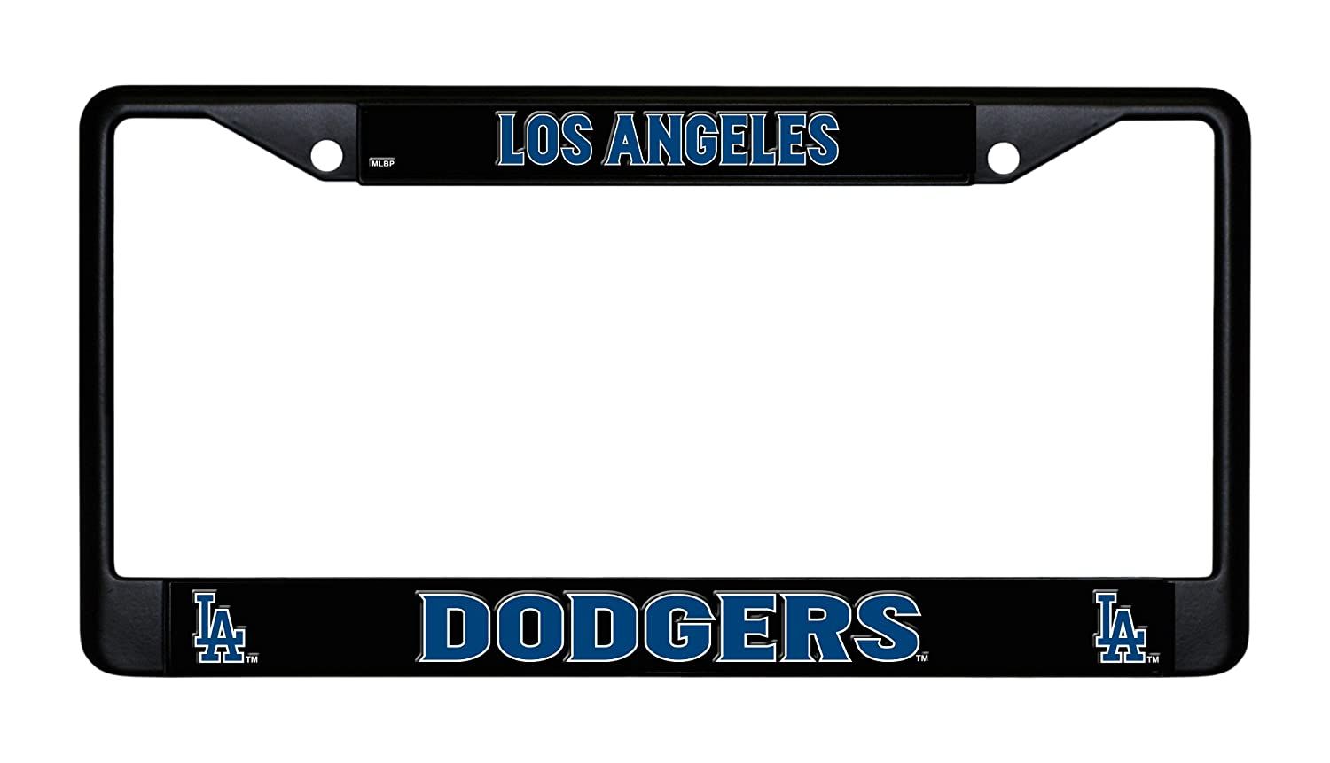 Los Angeles Dodgers Chrome License Plate Frame Rico Industries Inc FC5601