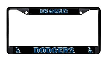 MLB L.A Dodgers Chrome License Plate Frame