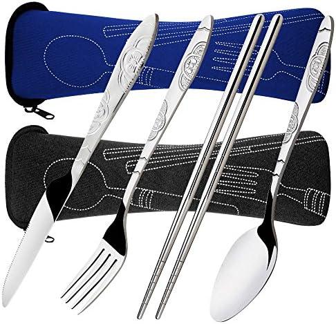 Chopsticks SENHAI Rustproof Stainless Dinnerware product image