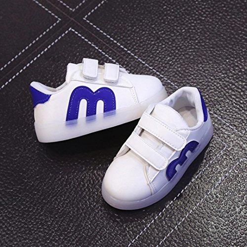 Jiangfu Für Jungen Mädchen Schuhe Kleinkind Und Kinder Blinkende Led CoedBx