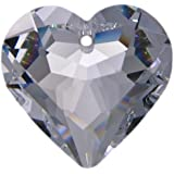 "8x Kristall /""Salzburger Mandel/"" 38mm Saphier ~ Blau K9 ~ Suncatcher Kronleuchter"