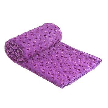 HYTGFR Antideslizante Estera de algodón Estera de Yoga ...
