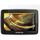 TomTom Start 25 Displayschutzfolie - 3 x atFoliX FX-Antireflex blendfreie Folie Schutzfolie